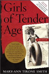 """Cover of """"Girls of Tender Age"""" by Mary-Ann Tirone Smith."""